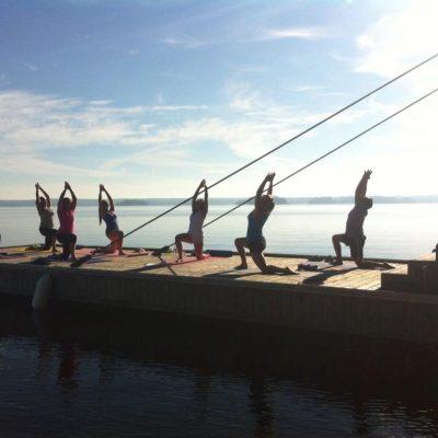 Yogaat the Dock - Muskoka Soul
