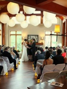Wedding for 55 people at MuskokaSoul.com, private luxury vacation rental property on Lake Muskoka