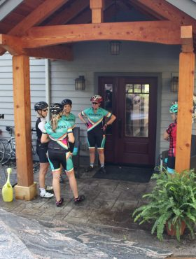 cycling & yoga retreat to energize, gain wellness and relax at Muskoka Soul on Lake Muskoka