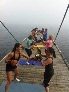 yoga retreat for renewal, wellness and fun at Muskoka Soul on Lake Muskoka