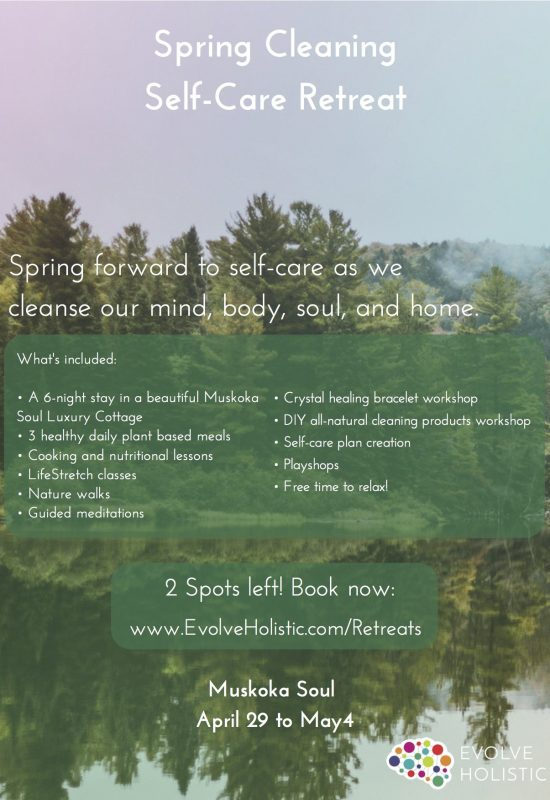 Spring Cleaning Retreat Poster