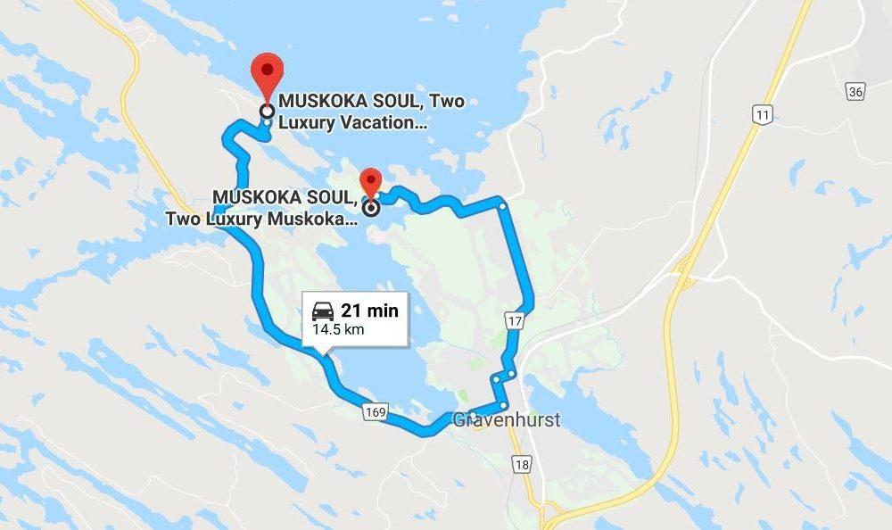 Muskoka Soul Locations