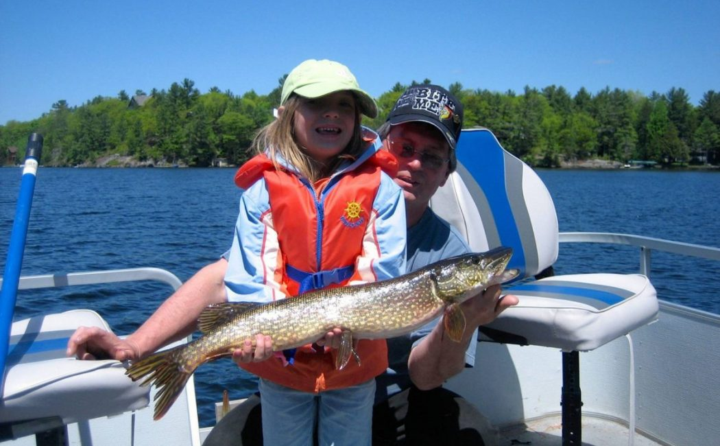 Be sure to plan a Muskoka Fishing experience. You will find Pike and so much more on Lake Muskoka. At the end of your day