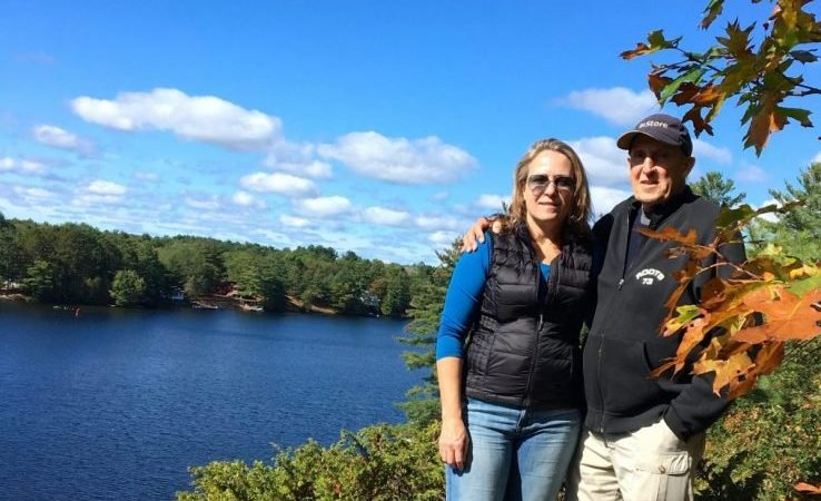 Just outside the door at Muskoka Soul Cliff Bay you can make your way to the Brydon's Bay hiking trail which is location in Gravenhurst on Lake Muskoka