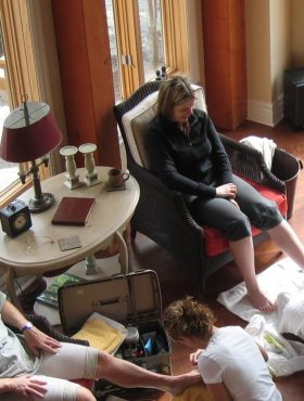 Onsite Concierge Service Treatments at Muskoka Soul